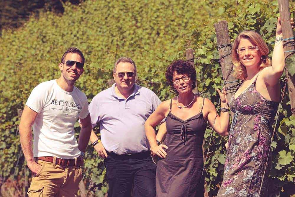 Familie Pieper im Weinberg, Rhöndorf