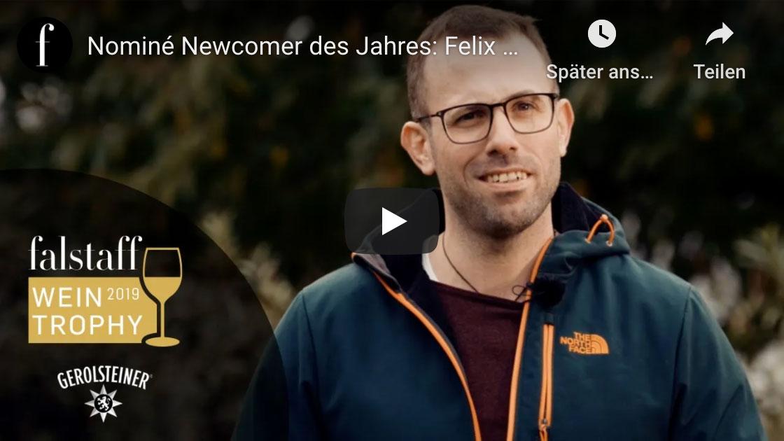 Felix Pieper: Vorstellungsvideo Nominé Falstaff Newcomer des Jahres
